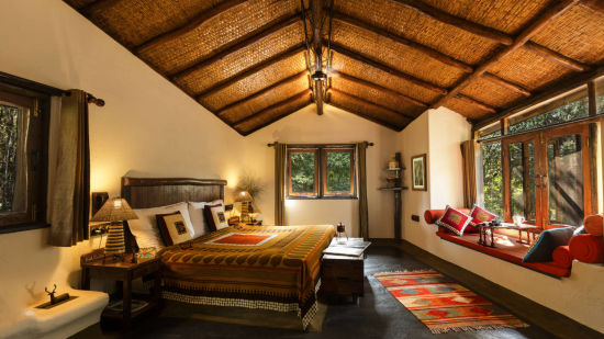 Cottages in our resort at Pachmarhi
