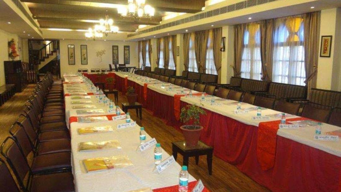 Banquet hall at Hotel Mount View, Banquet Hall in Dalhousie  1