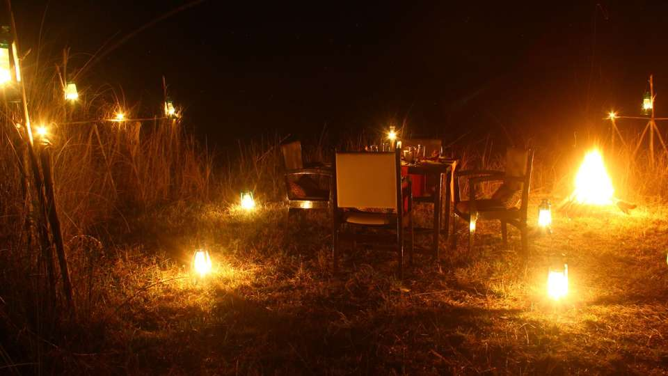 Bonfire at Infinity Resorts Bandhavgarh, Hotels in Madhya Pradesh