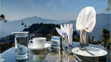 view 2 Summit Namnang Courtyard Spa Gangtok