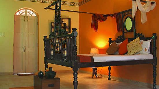 Arco Iris - 19th C, Curtorim Goa The Orange room Arco Iris - 19th C Curtorim Goa