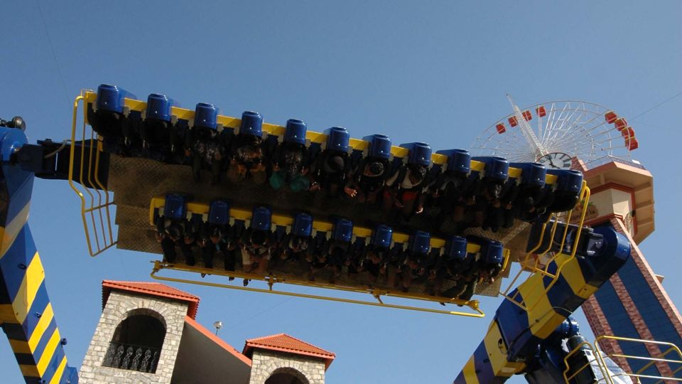 Thrillers Rides - Maveric at  Wonderla Amusement Park Bangalore