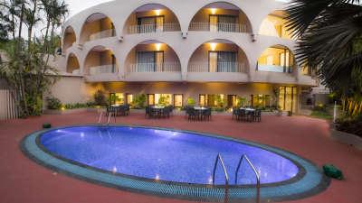 Pool at Hotel Sarovar Portico Lonavala 5