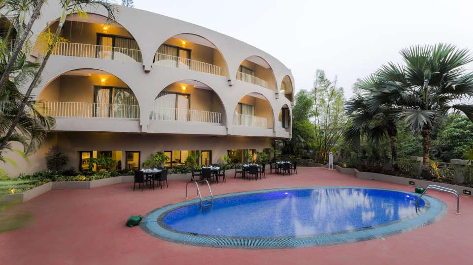Pool at Hotel Sarovar Portico Lonavala 3