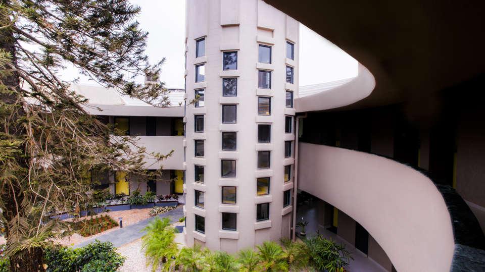 facade at Hotel Sarovar Portico Lonavala 4