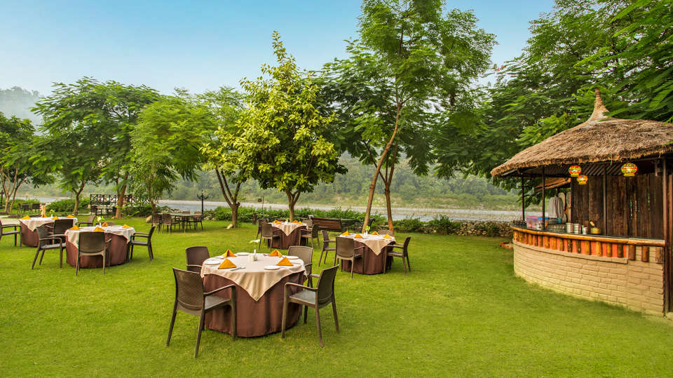 The Riverview Retreat, Corbett Corbett Garden area