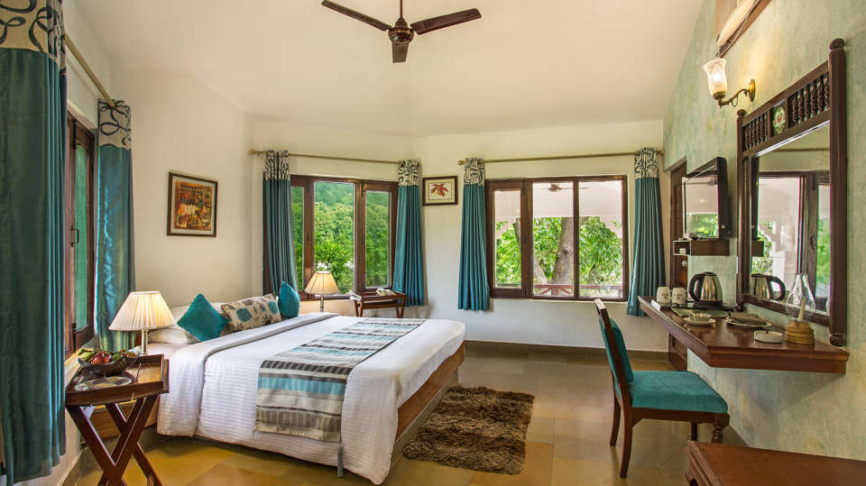 The Riverview Retreat, Corbett Corbett Tiger Lodge Deluxe