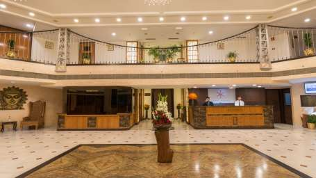 Lobby, Hotel Pacific Dehradun, hotel on Rajpur Road