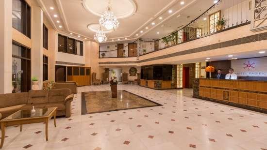 Lobby2, Hotel Pacific Dehradun, hotel on Rajpur Road