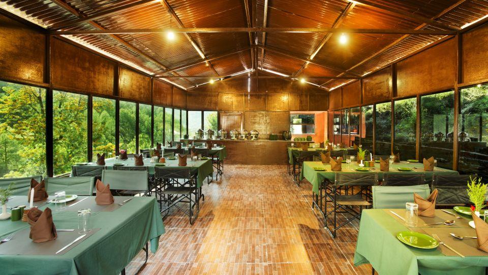 Dining at The Chardham Camps Uttarkashi