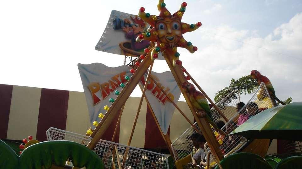 Kids Rides - Mini Pirate at  Wonderla Amusement Park Bangalore