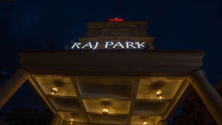 Raj Park Hotel - Chennai Chennai Porch Raj Park Hotel Alwarpet Chennai 2