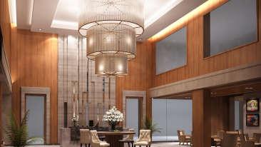 Lobby at Golden Sarovar Portico Amritsar, Best hotels in Amritsar 3
