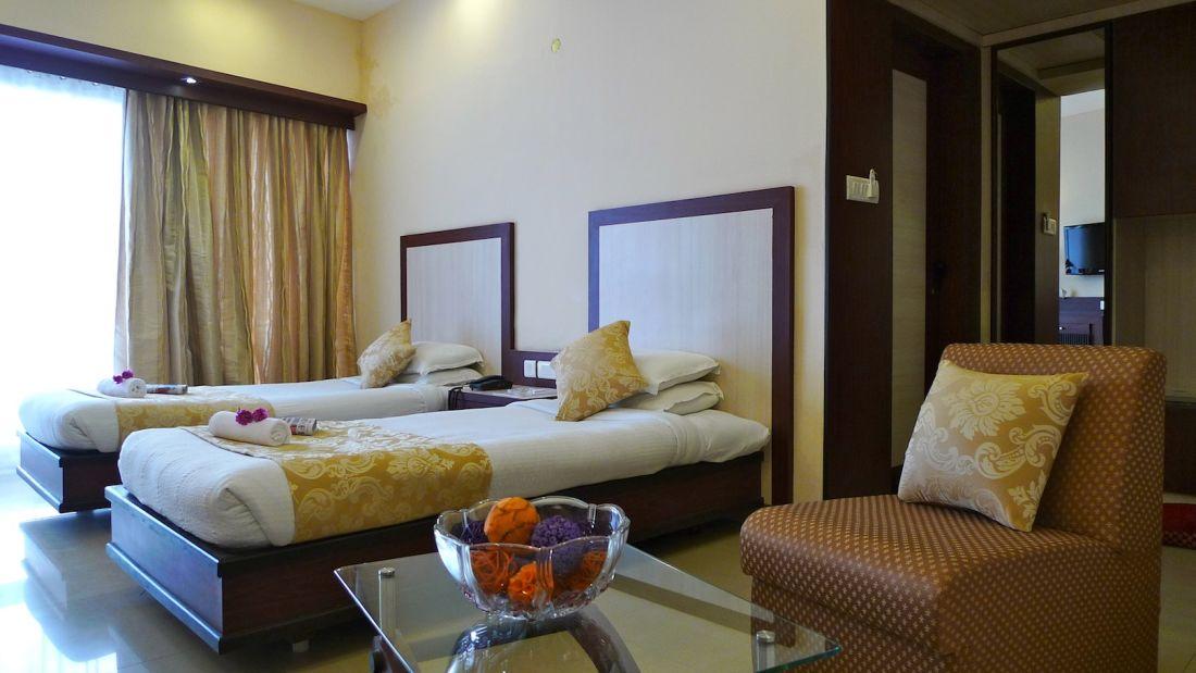 Deluxe room The Hans Hotel Hubli 1