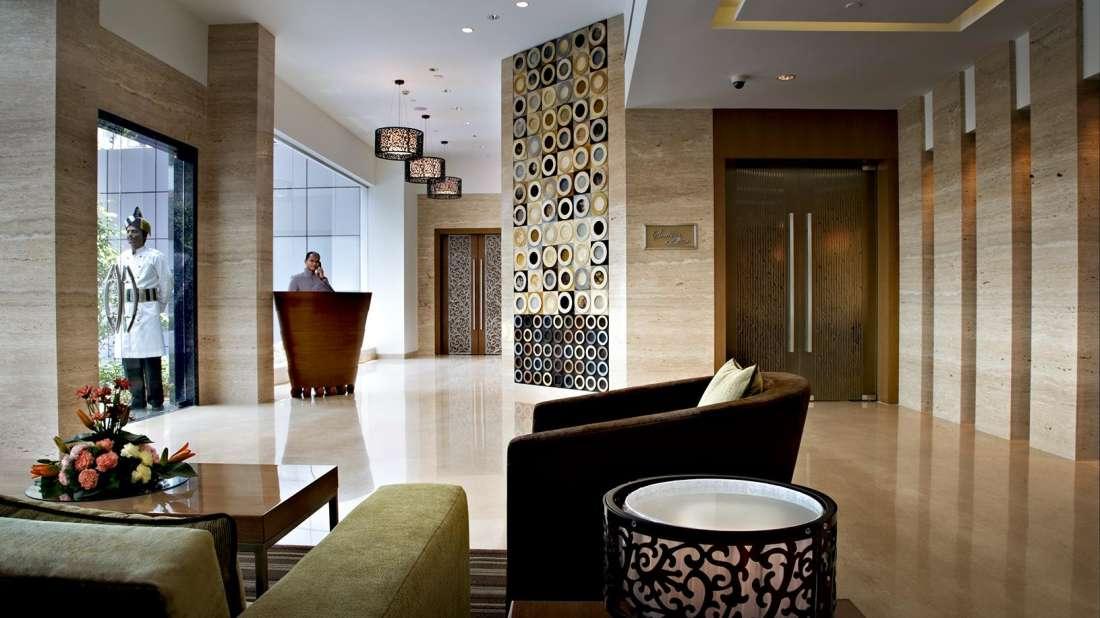 Hotel Adarsh Hamilton - Richmond Town, Bangalore Bengaluru Hotel Adarsh Hamilton in Richmond Town Bangalore Luxury Hotel BELL DESK 1