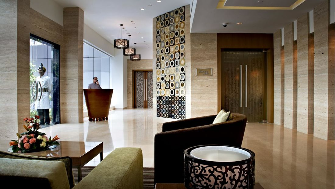 Hotel Adarsh Hamilton - Richmond Town, Bangalore Bangalore Hotel Adarsh Hamilton in Richmond Town Bangalore Luxury Hotel BELL DESK 1