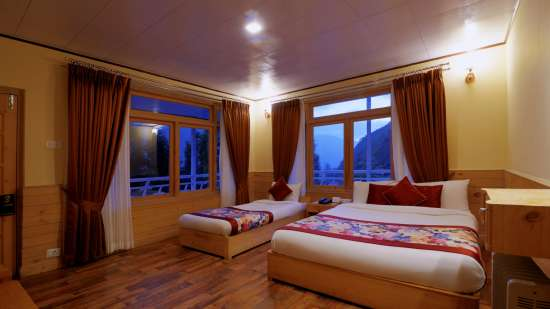 Deluxe Twin at Summit Alpine Resort Lachung