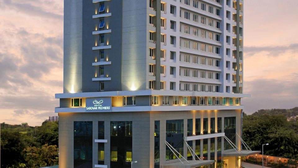 Facade Radisson Hyderabad Hitech City Hyderabad 1