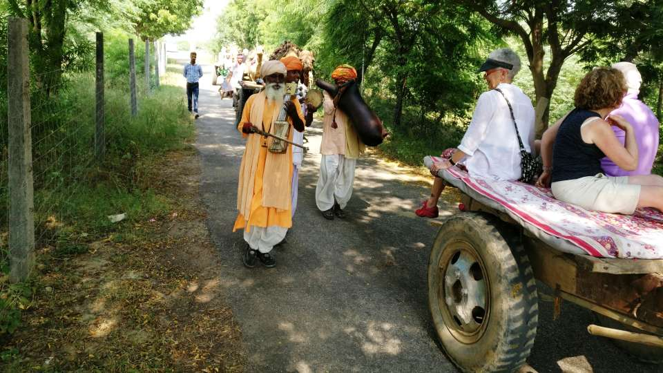 Umaid Lake Palace Dausa  ULP - Welcome by Camel Carts on Arrival