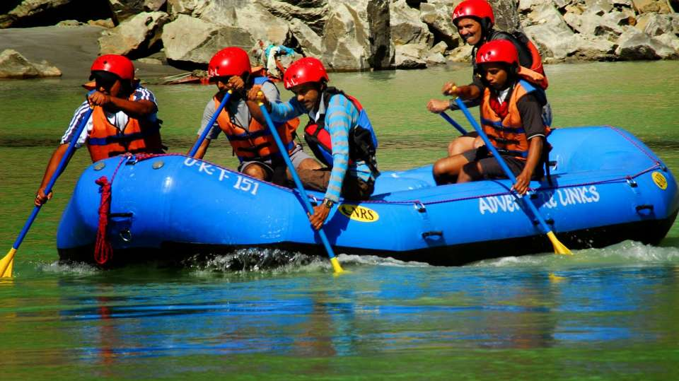 River Rafting at Aloha On the Ganges Rishikesh Resort and Hotel Rishikesh