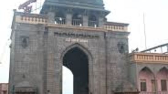 Tulja Bhavani Temple Royal Sarovar Portico Solapur
