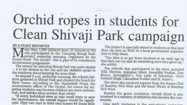 Clean shivaji park