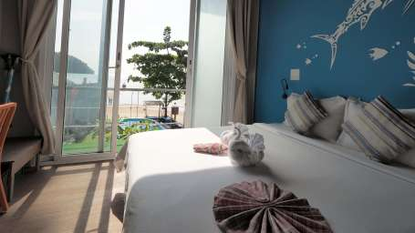 Deluxe Double Bed Full Sea View Accommodation in Krabi hotels in Phi Phi Island 6