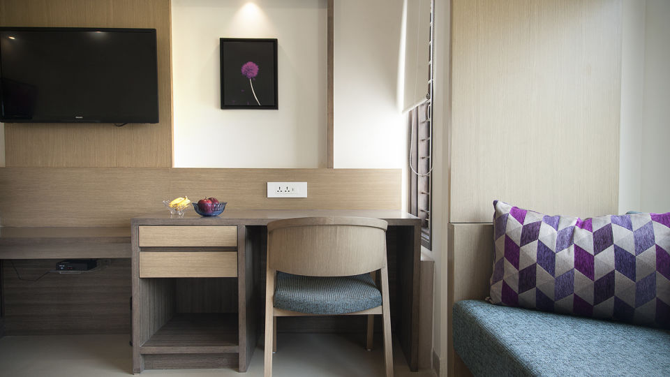 Interiors Purple Cloud Hotel Bangalore Airport Hotel 4