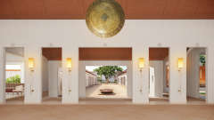Lobby, Marasa Sarovar Premiere Bodhgaya, Hotels in Bodhgaya
