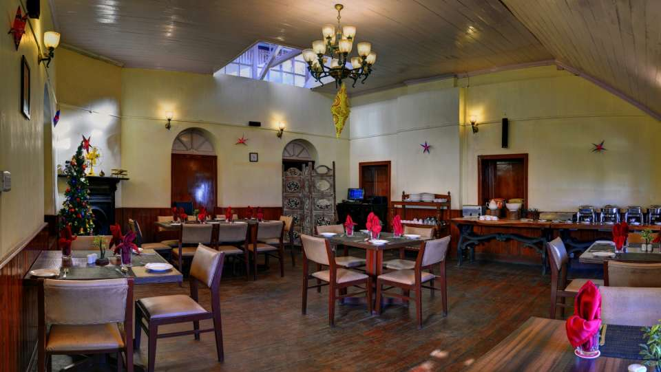 Whistling Steam- Dining at Summit Swiss Heritage Hotel Darjeeling 2