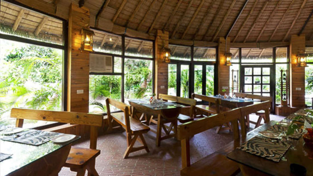 Restaurant at Corbett Wild Iris Spa Resort 4