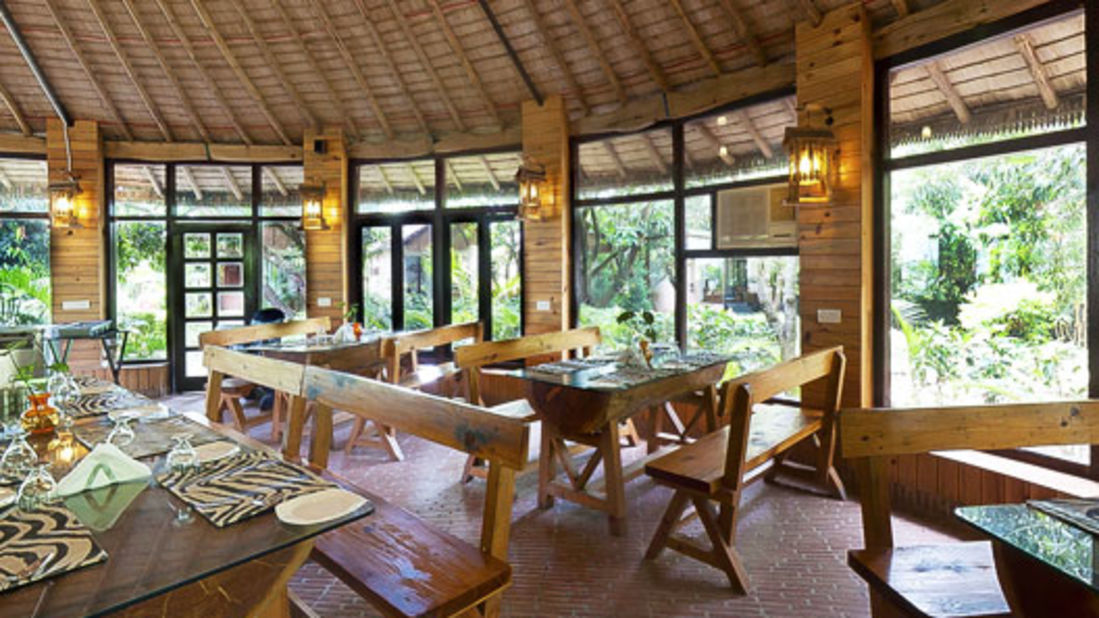 Restaurant at Corbett Wild Iris Spa Resort 1