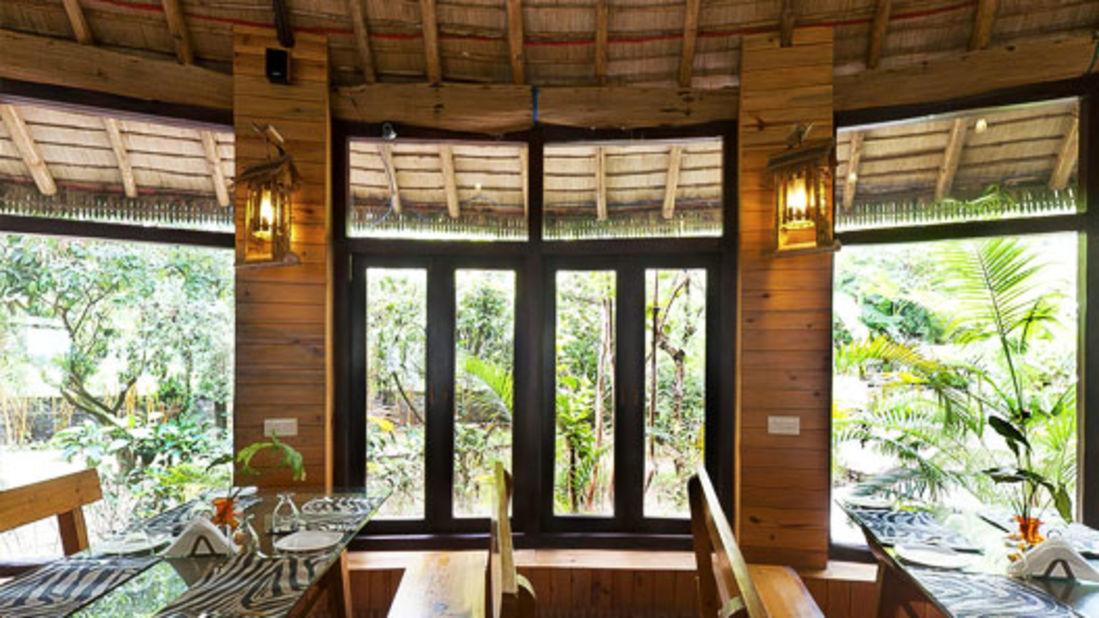 Restaurant at Corbett Wild Iris Spa Resort 2