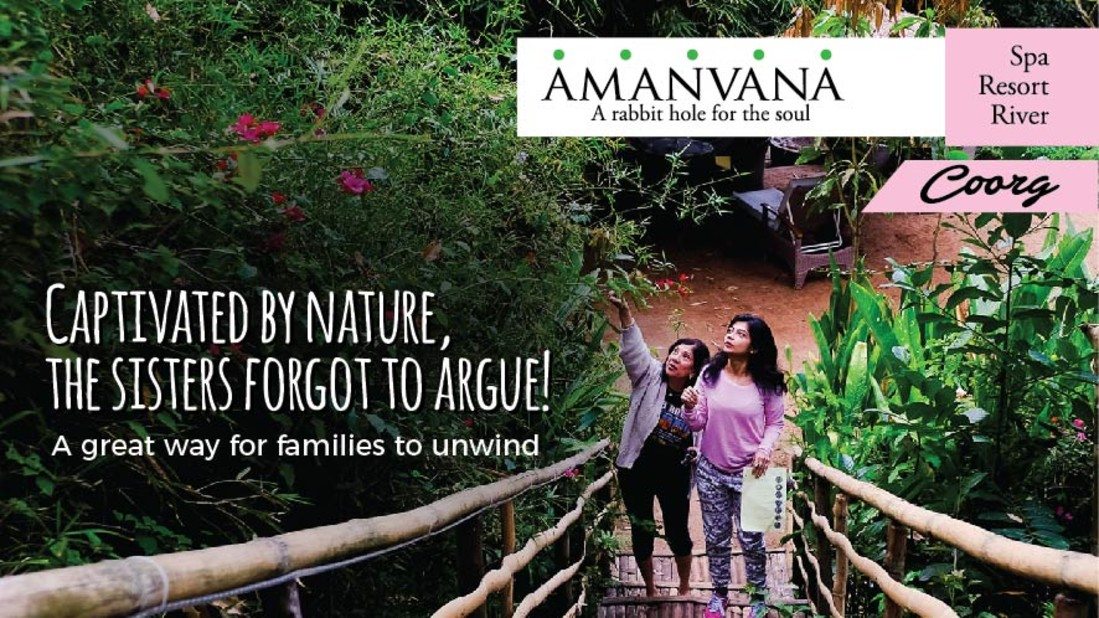Family Campaign, Amanvana Resort Spa, Luxury Coorg Resorts 11