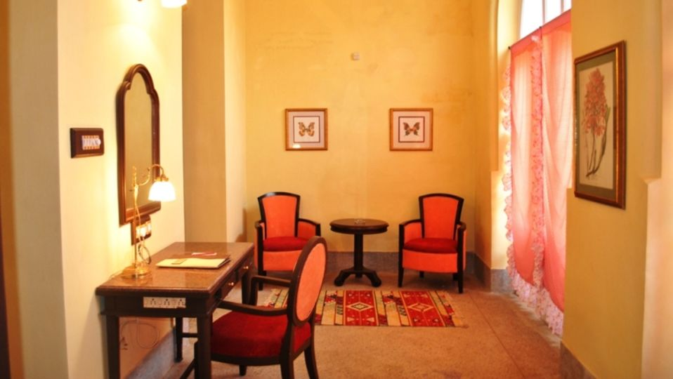 Heritage Suite Room at Mahodadhi Palace - A Beach View Heritage Hotel Puri