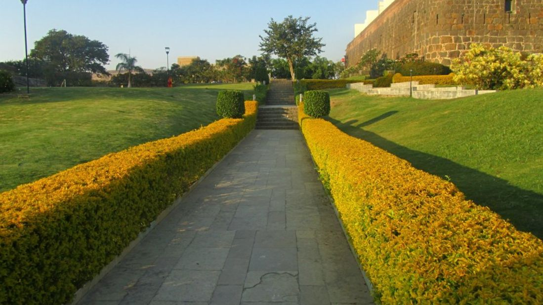 Exterior of Fort Jadhavgadh Resort Hotel Pune - resort near mumbai