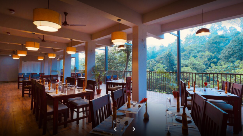 Abad Brookside Restaurant, Rooms in Wayanad,  Best Resorts in Wayanad, Nature Resorts in Vythiri