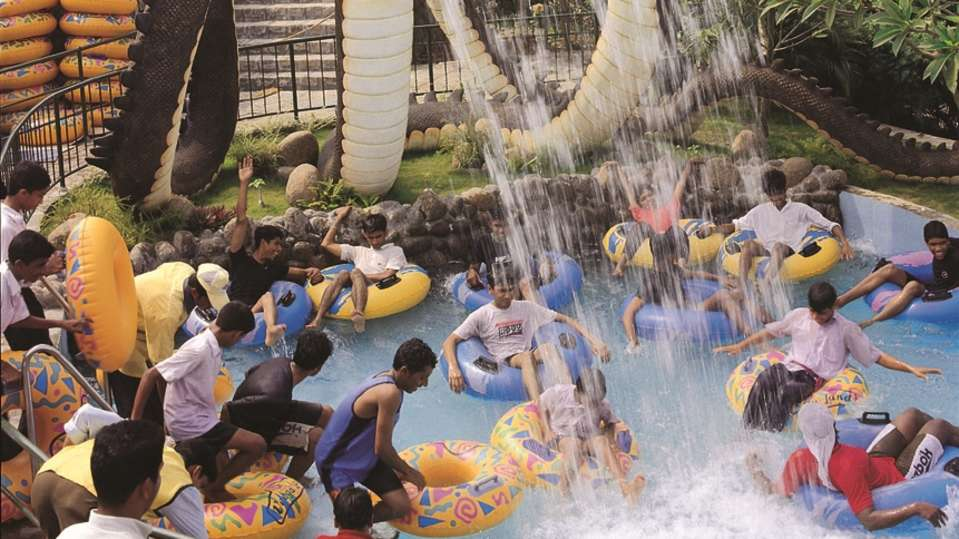 Water Rides - Rapid River at Wonderla Kochi Amusement Park