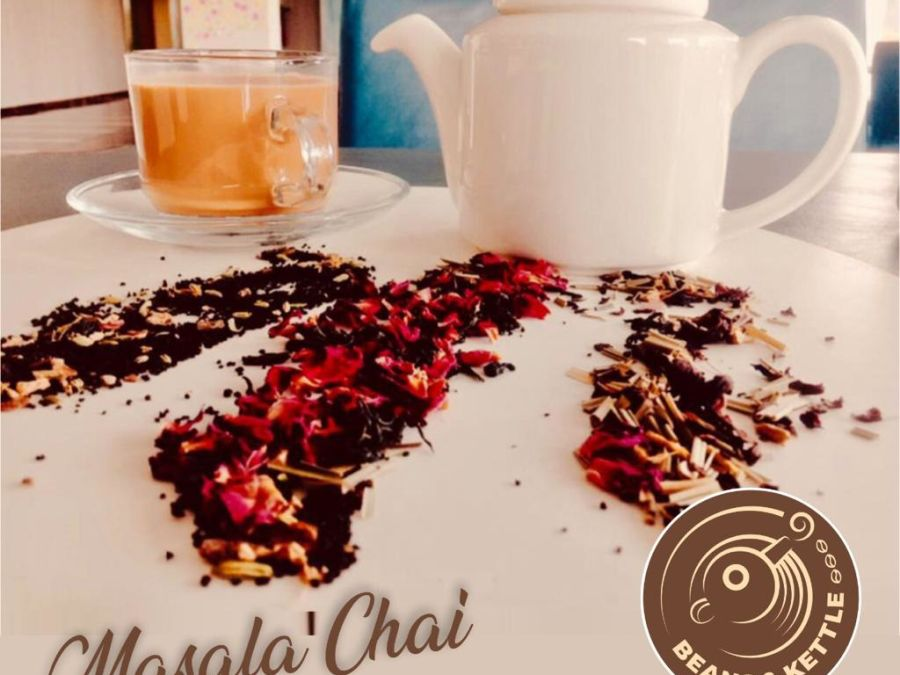 alt-text masala tea at Beans and Kettle, cafe at Narayani Heights, best cafe in ahmedabad