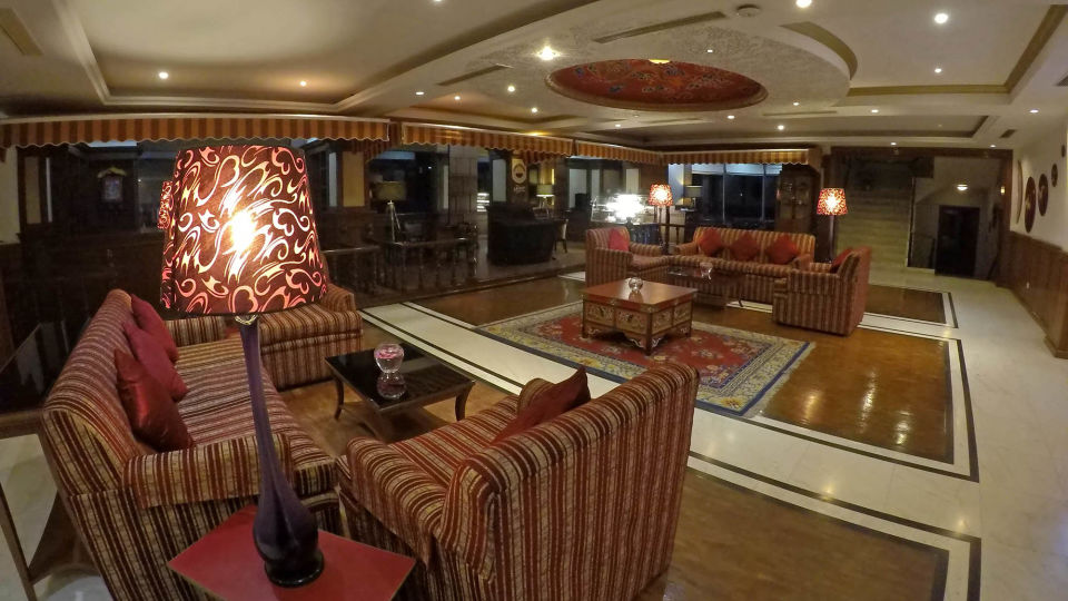 Lobby at The Royal Plaza Gangtok Hotel, top hotels in gangtok 7