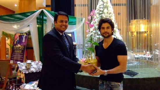Rajiv Khandelwal at The Orchid Hotel Mumbai