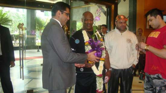 Ronnie Coleman at The Orchid Hotel Mumbai
