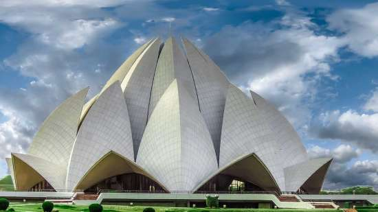 Lotus Temple The Muse Sarovar Portico Nehru Place New-Delhi