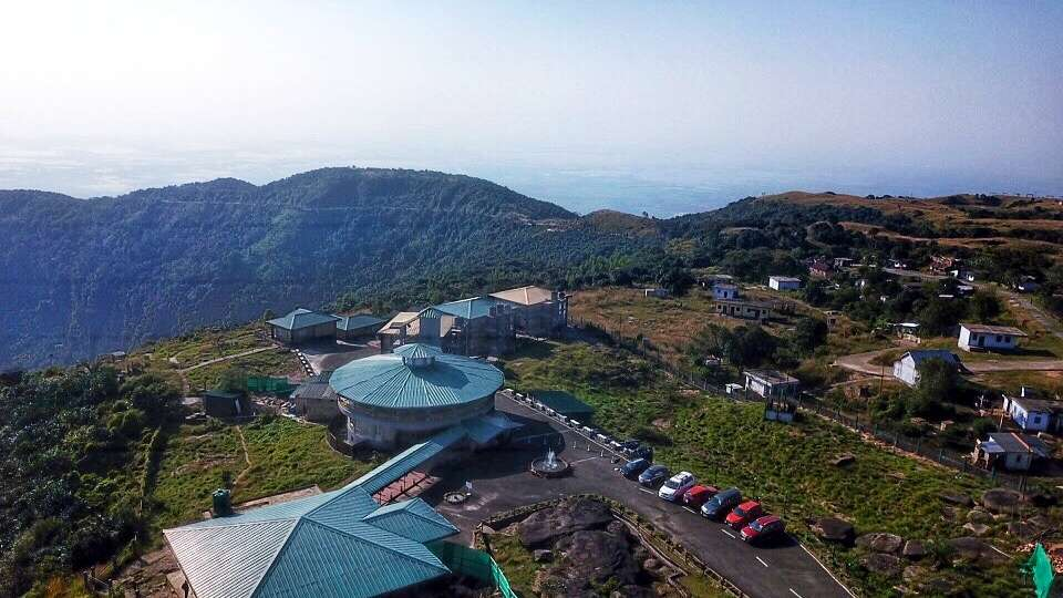 Bird eye view of Polo Orchid Resort, Cherrapunji