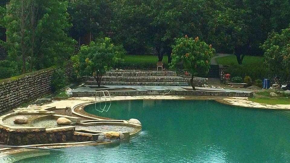 Tiger Camp Resort, Corbett Ramnagar Swimming Pool Tiger Camp Resort Corbett