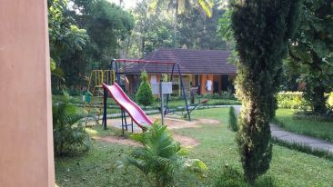 Children's Play Area at our Resort in Thekkady, Abad Green Forest, Thekkady