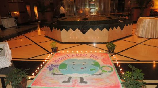 Earth Day celebrations at The Orchid Hotel Mumbai