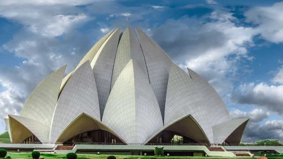 Lotus Temple The Muse Sarovar Portico Nehru Place New Delhi