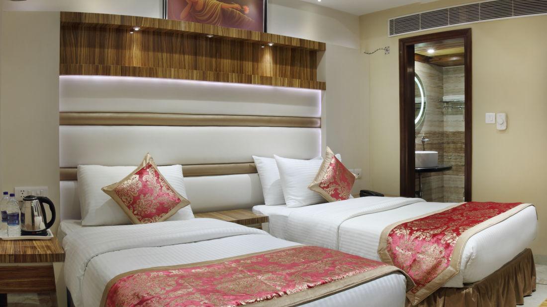 Hotel Hari Piorko - Paharganj, New Delhi New Delhi Executive Room Hari Piorko Paharganj New Delhi 3