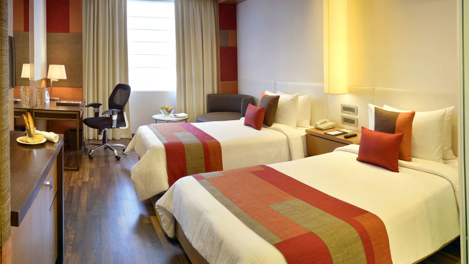 room twin The Muse Sarovar Portico Kapashera New Delhi